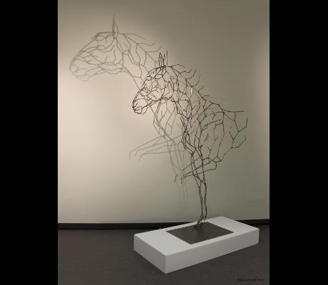 Sculpture Anima Acier 2 Monumentale