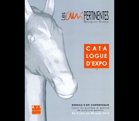 Biennale d'art populaire de Bourg-en-Bresse - 2015 - Couverture du catalogue.