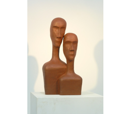 Sculpture Introspection 1 - Couple R4015 - 46x78.5x29
