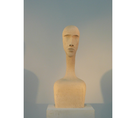 Sculpture Introspection 6 - Solo Femme Baillet- 29x74x26